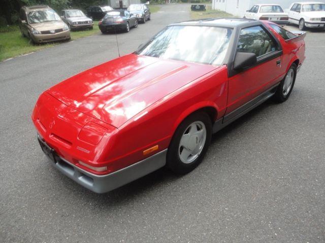Dodge Daytona Shelby Speed Manual T Tops Rare Time Capsule Survivor on 1989 Dodge Daytona Interior