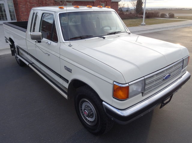 1989 f250 ford lariat xlt 4x4 speed mint rare near specifications