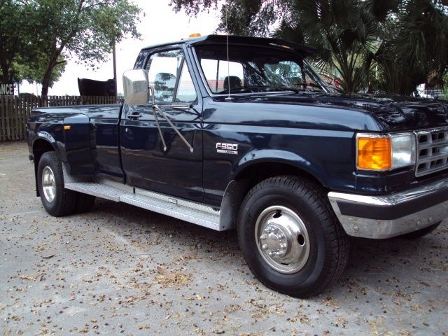 1989 FORD F350 REG CAB RARE DUALLY! 139K MILES! for sale ...