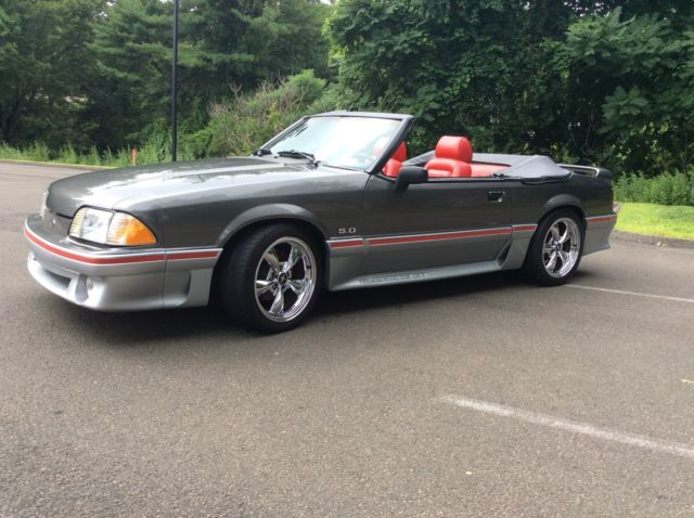 1989 ford mustang gt 5 0 5 speed low miles rust free. Black Bedroom Furniture Sets. Home Design Ideas