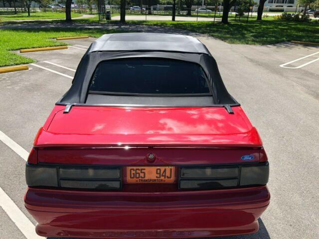 1989 Mustang Gt Performance Specs