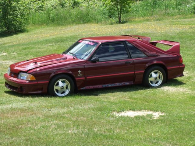 1989 ford mustang gt in better than new condition only. Black Bedroom Furniture Sets. Home Design Ideas