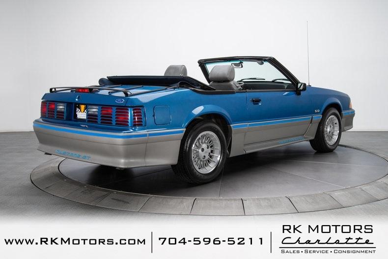 1989 Mustang 5.0 Blue