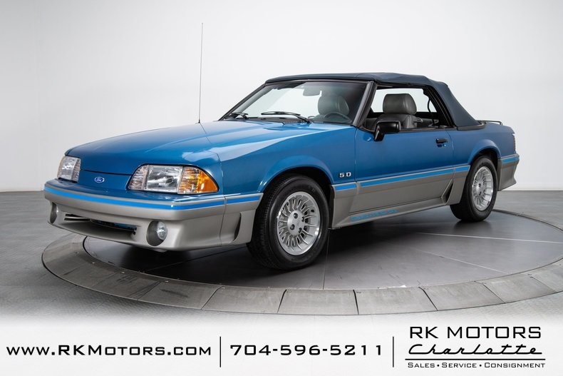 1989 Ford Mustang Gt Specs