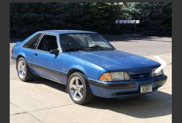 1989 Mustang 5.0 Weight