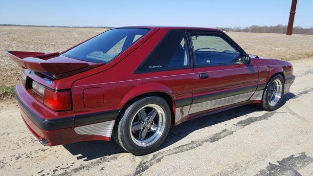 1989 ford mustang Saleen 20k original miles. Showroom new ...