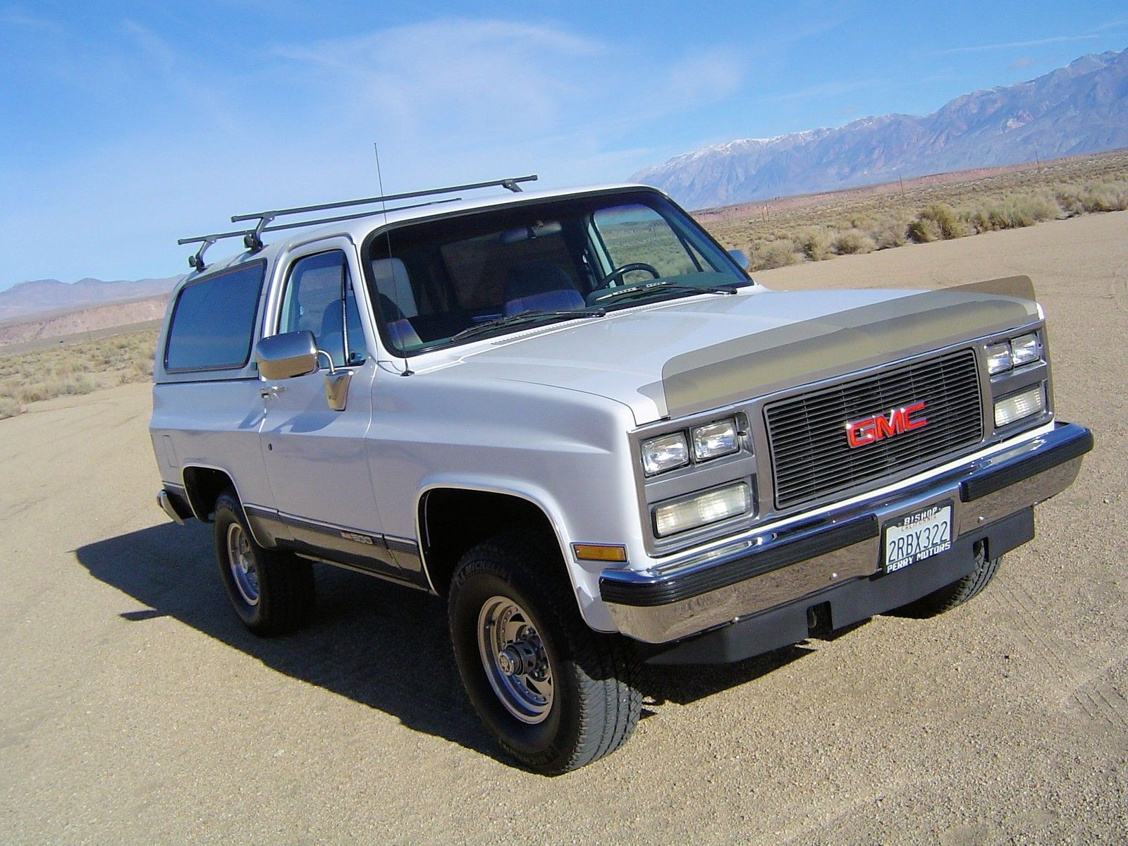 1989 Gmc Jimmy 4x4 California Truck Removable Top No Rust Very Nice Must See For Sale In Bishop United States