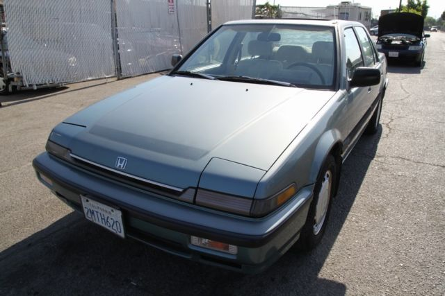 1989 honda accord lx i manual 4 cylinder no reserve for How many miles does a honda accord last