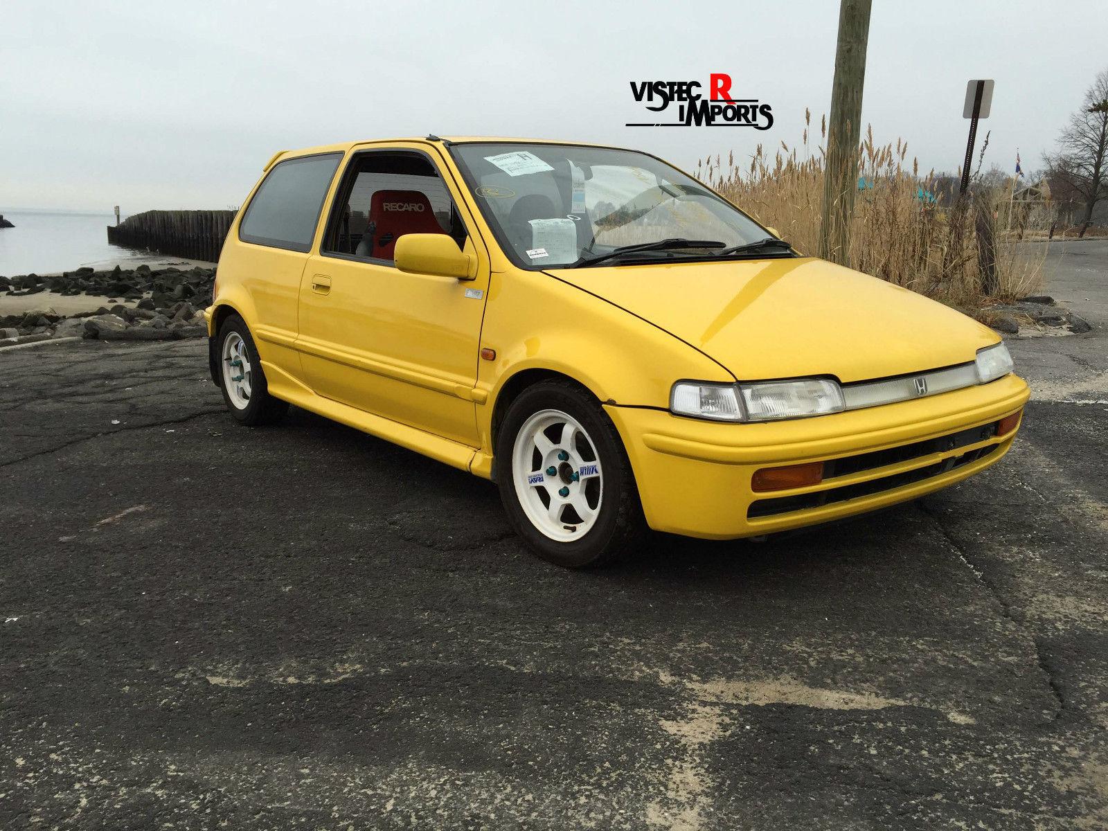 1989 Honda City Cr I Jdm Rhd Civic Integra Accord Prelude