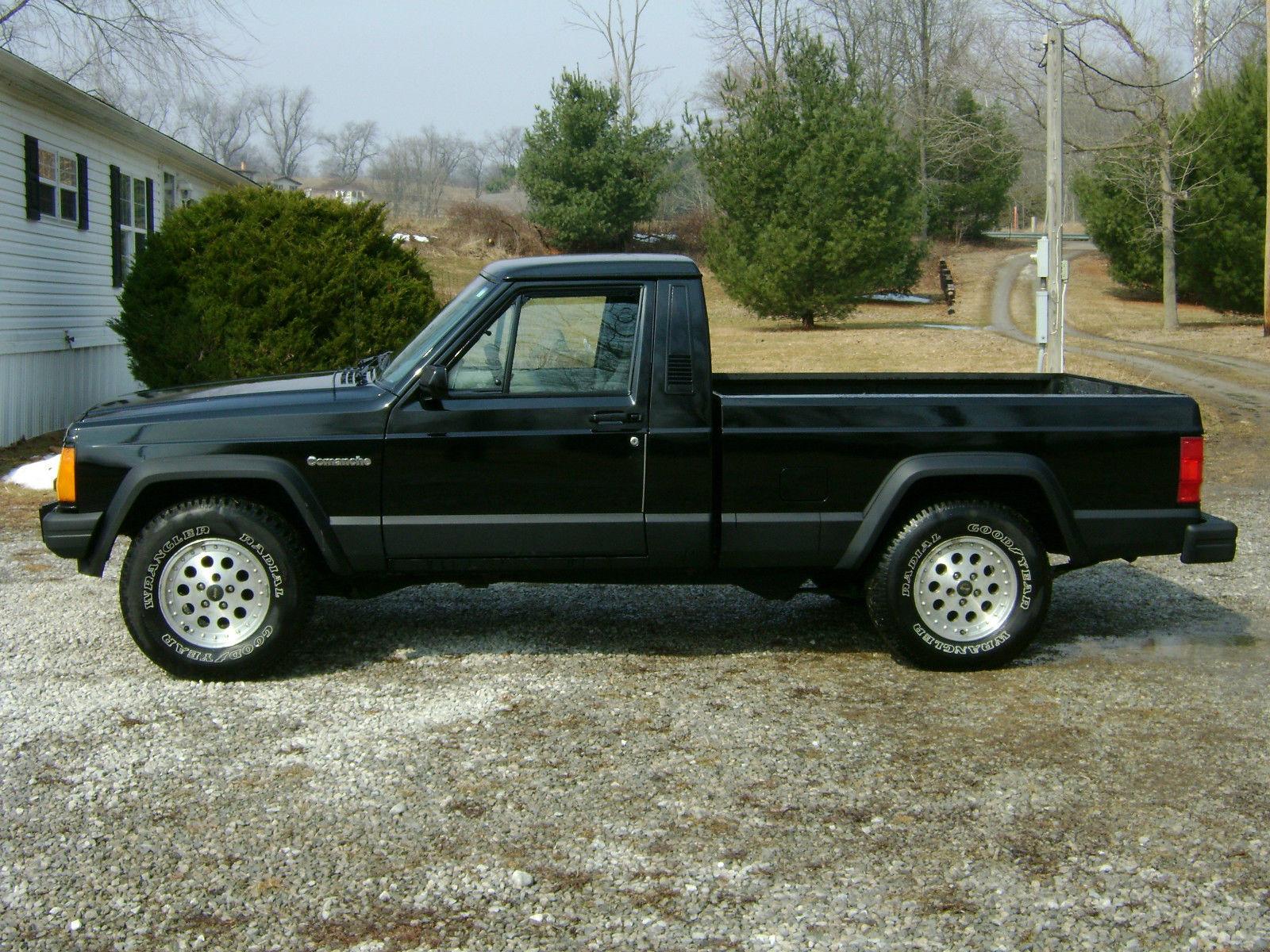 1989 jeep comanche eliminator standard cab pickup 2 door 4 0l for sale in millersburg ohio. Black Bedroom Furniture Sets. Home Design Ideas