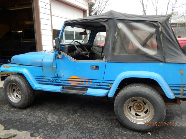 1989 jeep wrangler 4x4 yj islander 4 2l il6 5spd man 2. Black Bedroom Furniture Sets. Home Design Ideas