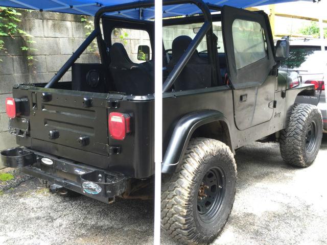 1989 jeep wrangler yj 5 speed manual 4 2l 6 cyl rust free tj cj cj 7 xj jk for sale in sparks. Black Bedroom Furniture Sets. Home Design Ideas