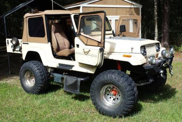 1989 Jeep Wrangler YJ Sehara Utility 2-Door SBC 350 4X4 for