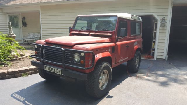 1989 Land Rover Defender 90 2 5 Turbo Diesel Rhd Clear