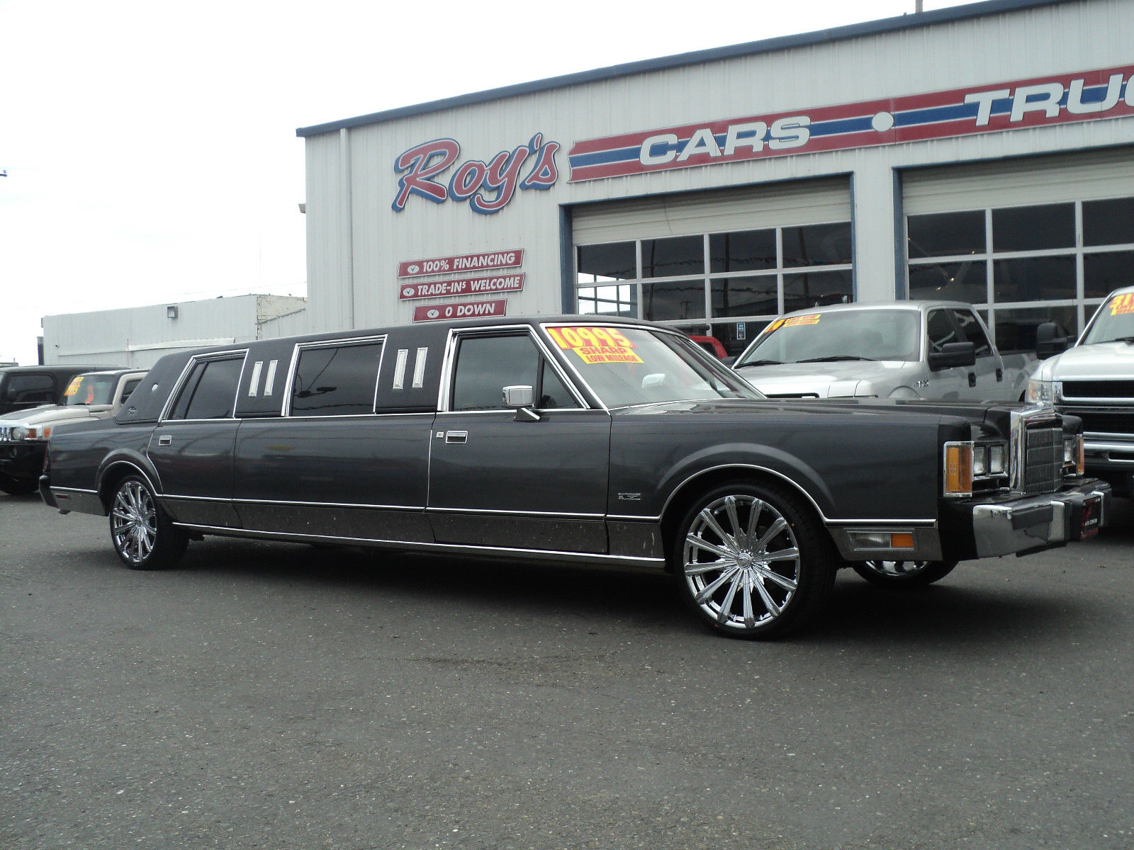 1989 Lincoln Town Car Limousine For Sale In Cleveland