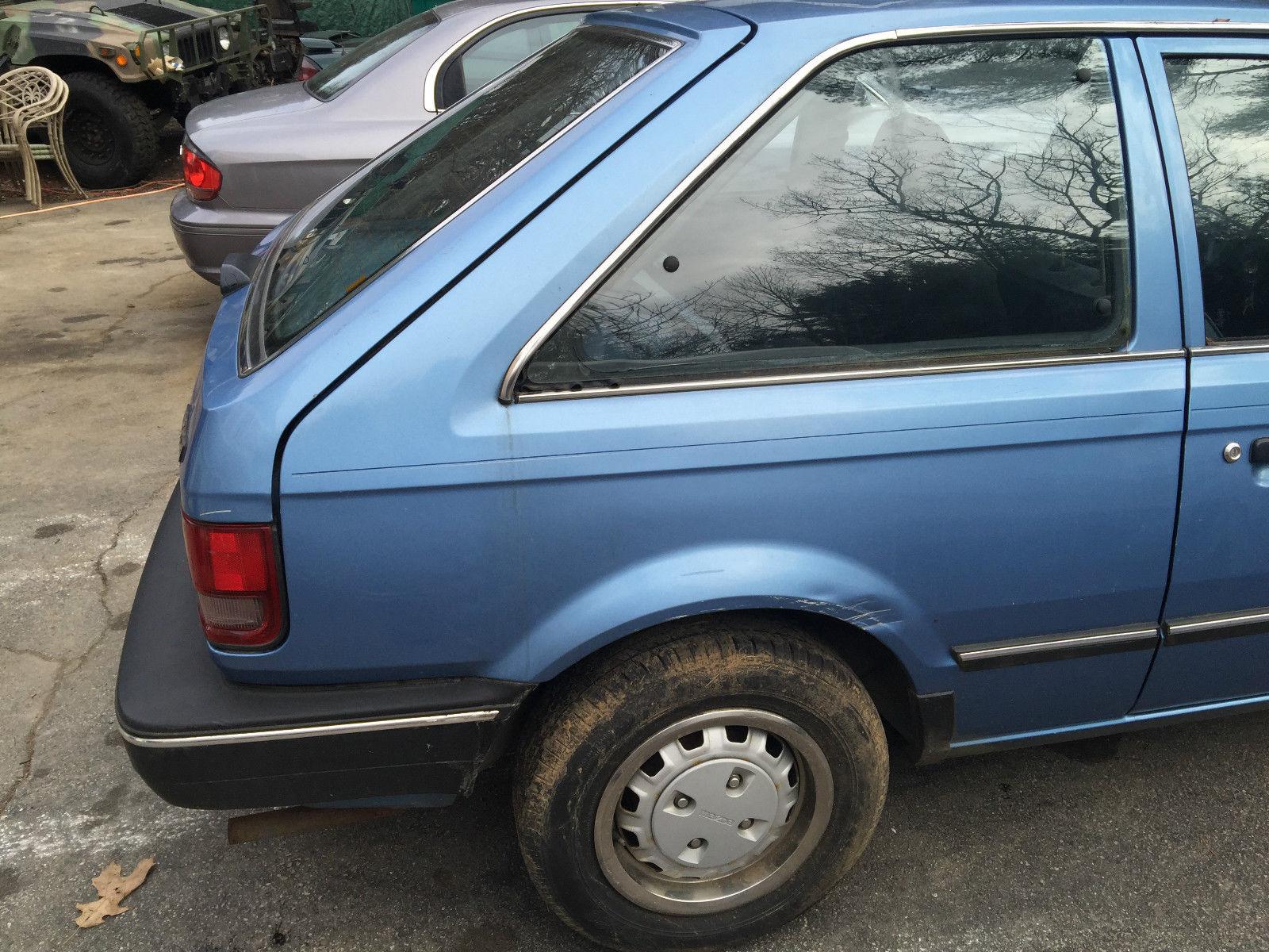 1989 Mazda 323 2 Door Hatchback For Sale In Mansfield