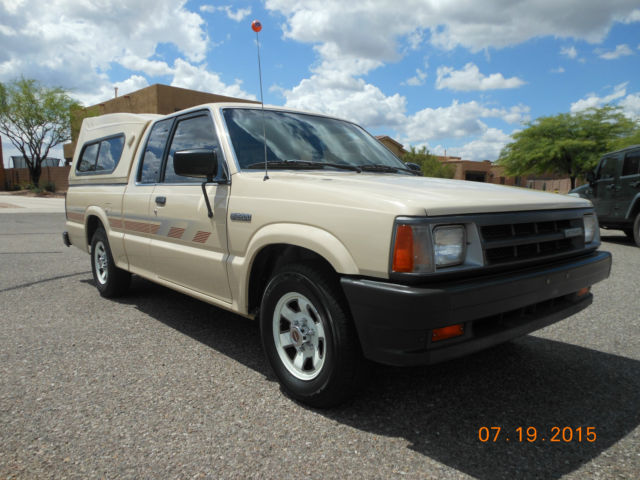 1989 Mazda B2200 1 Elderly Owner Low Miles Unmolested
