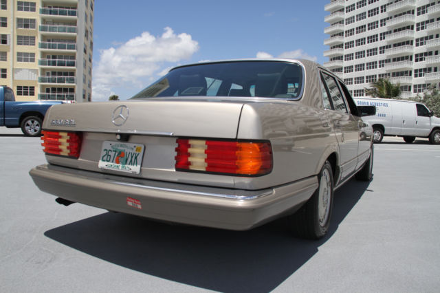 1989 mercedes 560 sel garage kept and low miles for Garage low cost auto