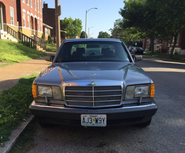 1989 mercedes benz 420 sel 99k 50 shades of grey for Mercedes benz shades