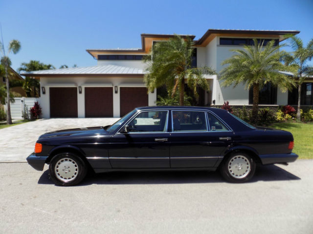1989 mercedes benz 560 sel survivor for Mercedes benz norwood