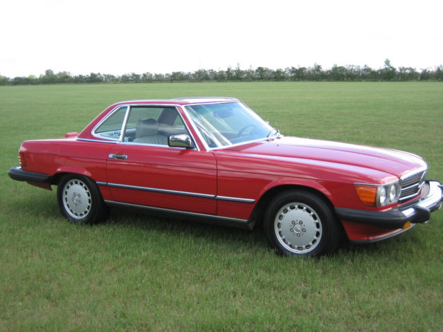 1989 mercedes benz 560 sl roadster for Mercedes benz 560 sl