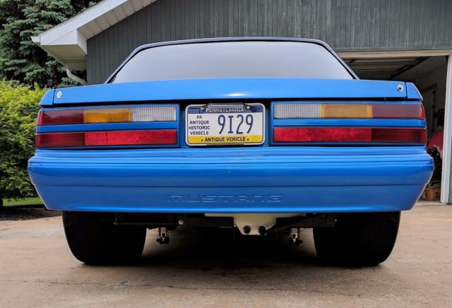 1989 Mustang Coupe