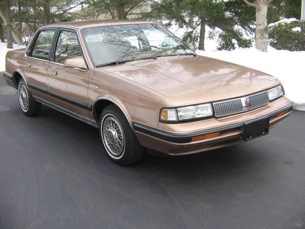 1989 oldsmobile cutlass ciera 29 000 miles. Black Bedroom Furniture Sets. Home Design Ideas