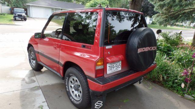 1989 Suzuki Sidekick  4x4  Jlx  Hardtop For Sale  Photos  Technical Specifications  Description
