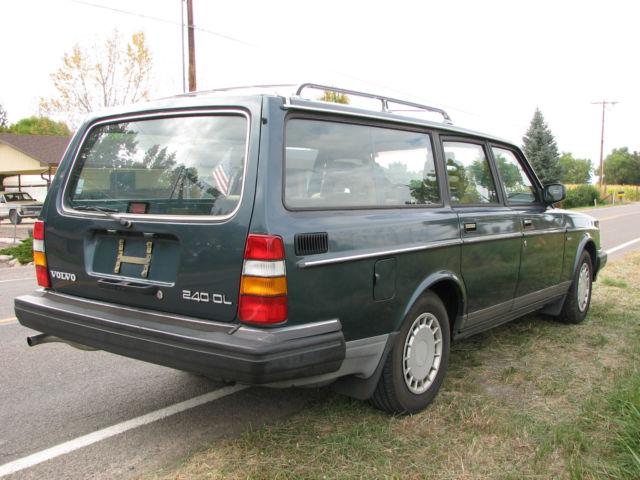 1989 volvo 240 wagon body interior excellent third seat center armrest etc for sale in. Black Bedroom Furniture Sets. Home Design Ideas