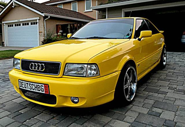 Audi San Jose >> 1990 Audi Quattro Coupe