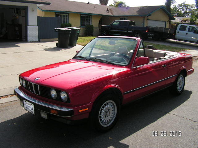 1990 Bmw 325i Convertible For Sale In Modesto California United States