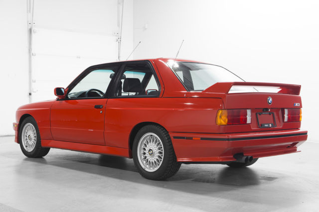1990 bmw e30 m3 red mint for sale in woodbridge ontario. Black Bedroom Furniture Sets. Home Design Ideas