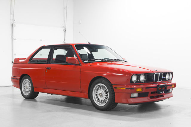 1990 BMW E30 M3 RED MINT for sale in Woodbridge, Ontario ...