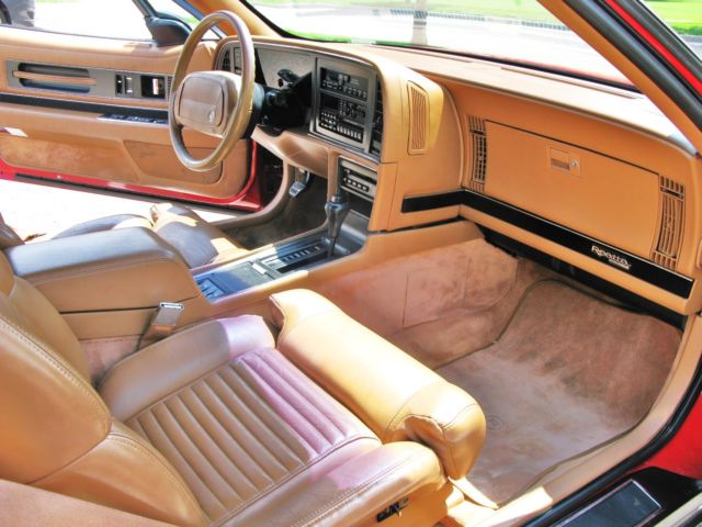 1990 buick reatta convertible red with tan top and interior rare collectible for sale in. Black Bedroom Furniture Sets. Home Design Ideas
