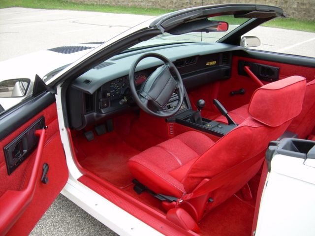 1990 camaro iroc z 5 speed 1le optioned camaro for sale photos technical specifications description classiccardb com