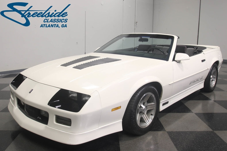 The Best 1990 Camaro Iroc Z Convertible