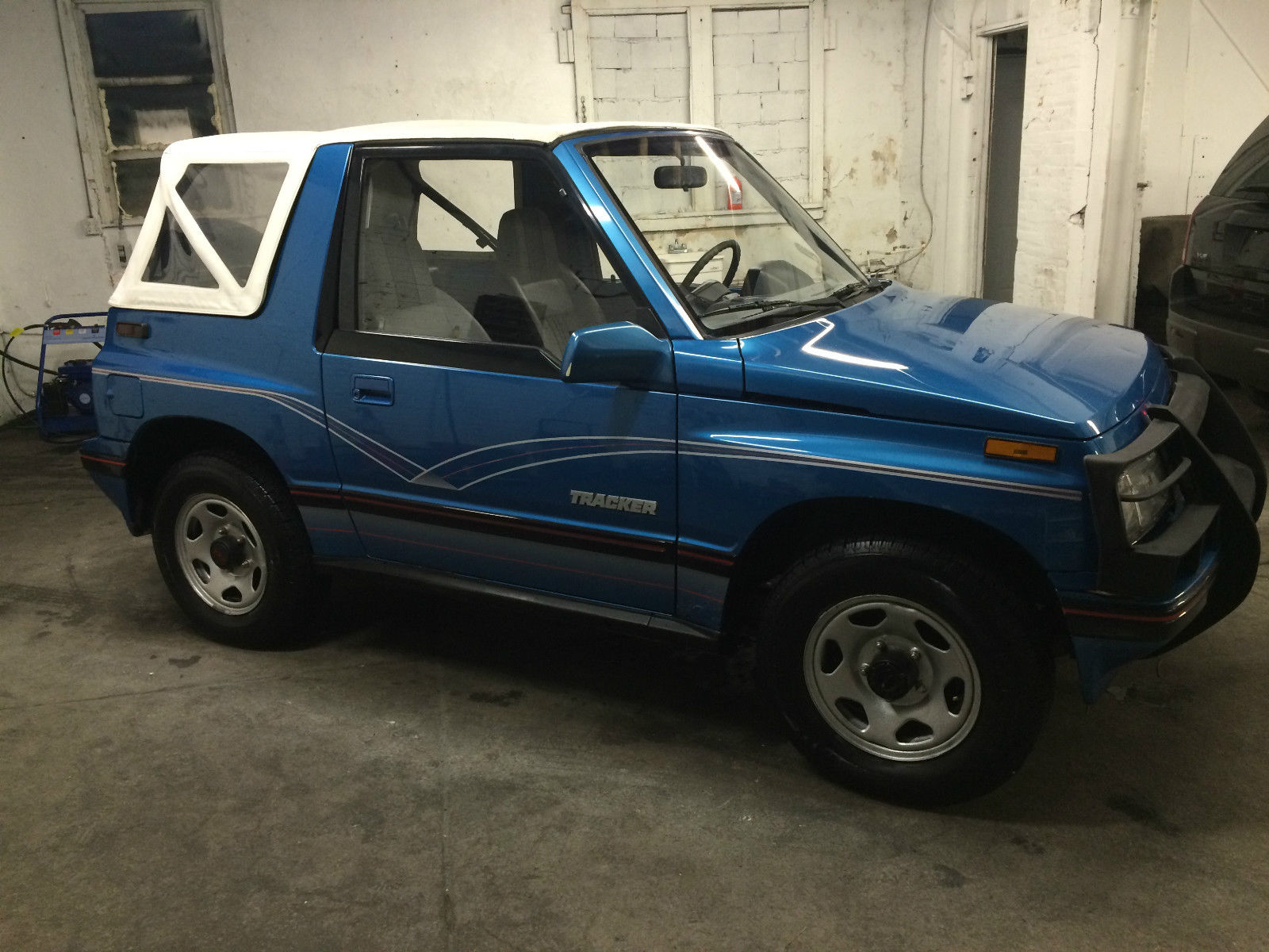 1990 CHEVY GEO TRACKER 4X4 CONVERTIBLE for sale in ...