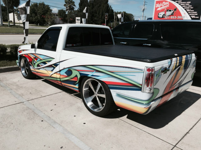 1990 chevy silverado 454 ss for sale in melbourne florida united states. Black Bedroom Furniture Sets. Home Design Ideas