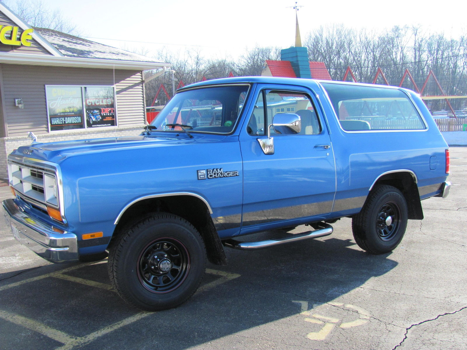 1990 Dodge Ramcharger 2 Owner Truly A Rare Find For Sale In Beloit Wisconsin United States For Sale Photos Technical Specifications Description