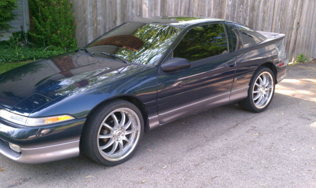 1990 Eagle Talon Tsi Awd 5 Speed Turbo Very Low Miles Plus Extras Blue Green For Sale In Taylor
