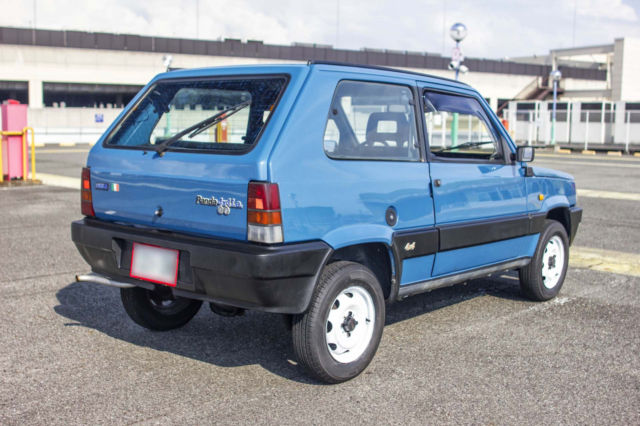 1990 fiat panda 4x4 ie manual jdm import lhd free ro ro shipping. Black Bedroom Furniture Sets. Home Design Ideas