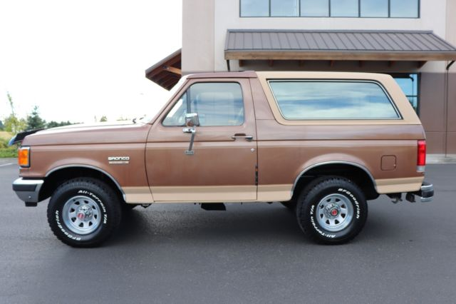 How To Read Ford Vin Number >> 1990 Ford Bronco Eddie Bauer 4x4 ONLY 42K MILES! 1991 1992 ...