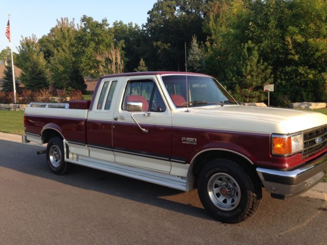 Ford F Extended Cab Pickup Truck Super Nice Only Miles Must See on 1994 F150 Engine