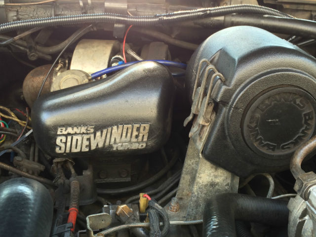 1990 Ford F 250 7 3l Diesel Idi 4x4 4wd Banks Sidewinder