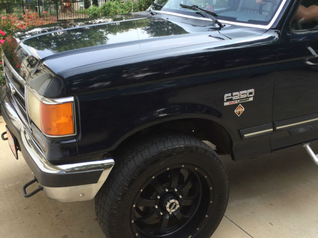 1990 ford f 250 7 3l diesel idi 4x4 4wd banks sidewinder turbo excellent cond for sale in moore. Black Bedroom Furniture Sets. Home Design Ideas