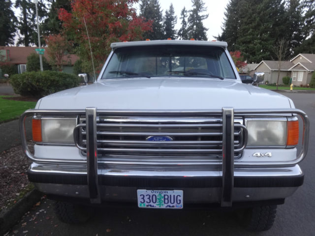 1990 Ford F 250 Xlt Lariat 4x4 Extended Cab Dually For