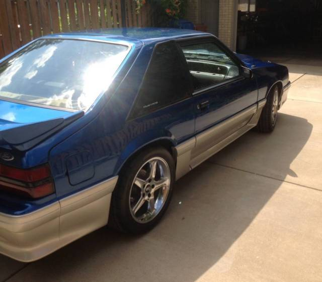 1990 Ford Mustang Gt Supercharged 500 Horsepower 486rwhp Restored