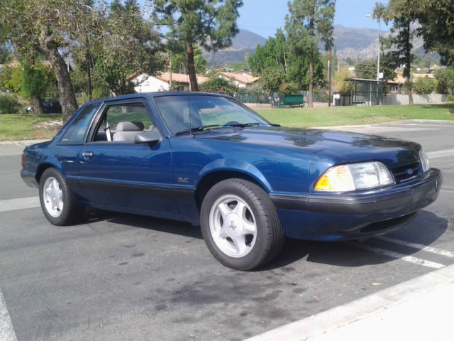 1990 Ford Mustang Ssp Coupe For Sale In Monrovia California United States For Sale Photos Technical Specifications Description