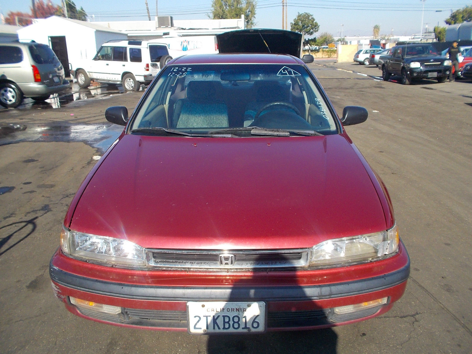 1990 honda accord lx coupe 2 door 2 2l no reserve for sale in anaheim california united states. Black Bedroom Furniture Sets. Home Design Ideas