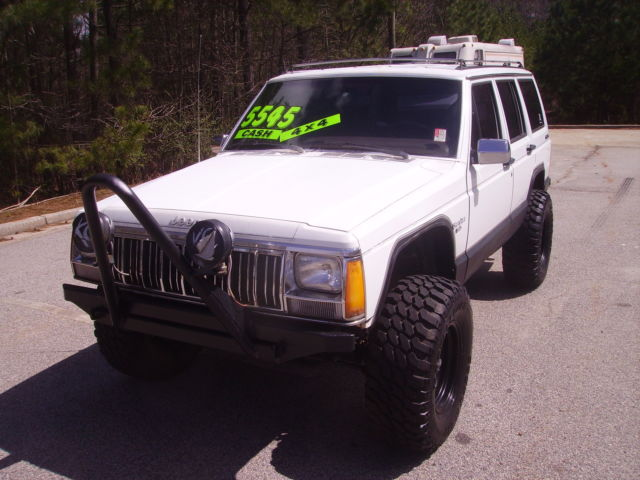1990 jeep cherokee laredo 4x4 4 0 liter 6 cylinder automatic lifted 3 inches for sale in bremen. Black Bedroom Furniture Sets. Home Design Ideas